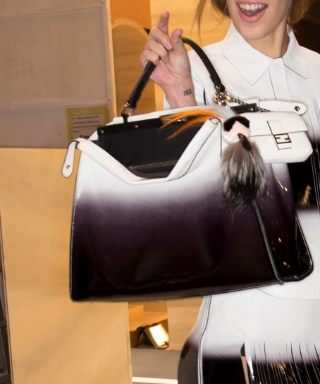 handbag degrade Fendi