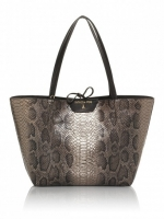 pepe shopper-in-ecopelle-con-stampa-rettile