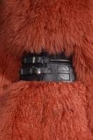 Philipp Plein cintura su pelliccia mongolia