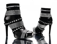 Philipp Plein Swarovski Boots