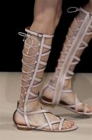 Ferretti sandalo flat gladiatore
