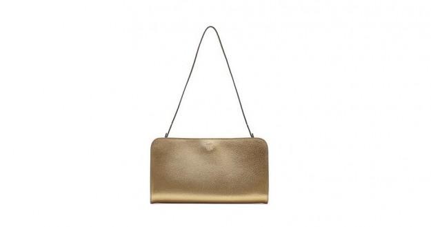 The Row shoulder bag laminata