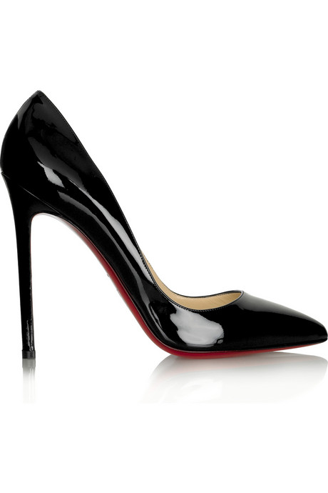 Christian-Louboutin-Pigalle-120-Patent-Black-Pumps-1