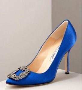 La famosa Hangisi,  la scarpa del fidanzamento tra Carrie e Mr Big.