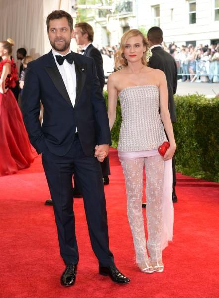 Diane Kruger in Chanel con Joshua Jackson