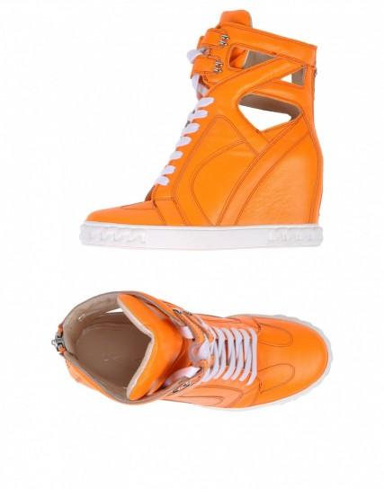 sneakers-con-zeppa-arancio-casadei