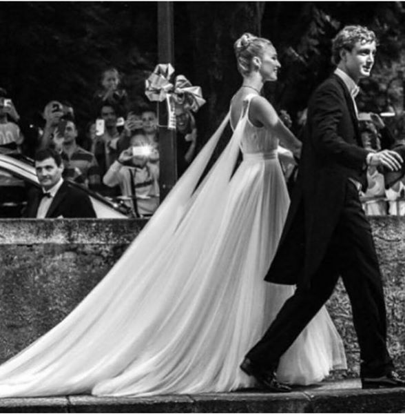 Beatrice Borromeo in Armani Prive