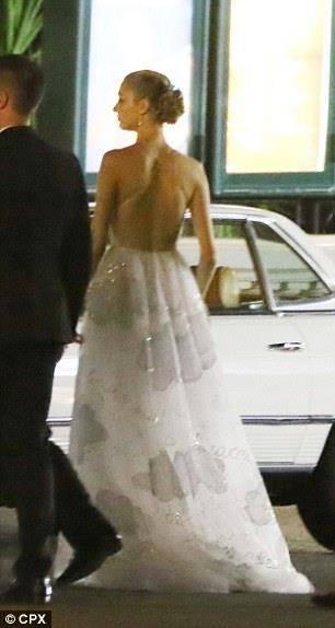 Beatrice Borromeo in abito Valentino