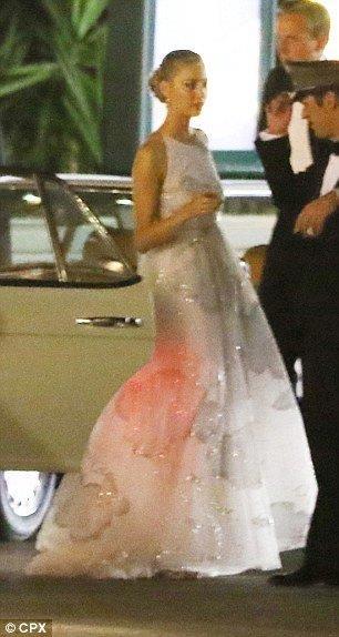 Beatrice Borromeo in abito da sera Valentino
