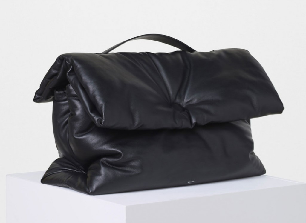 Celine-Large-Cartable-Pillow-Handbag-3900