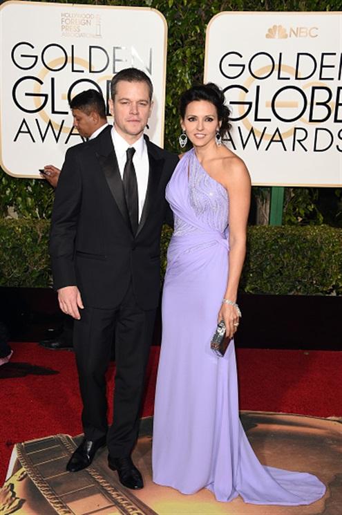 Matt Damon e Luciana Damon -