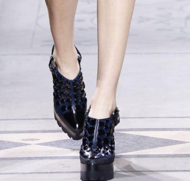scarpe con maxi suola