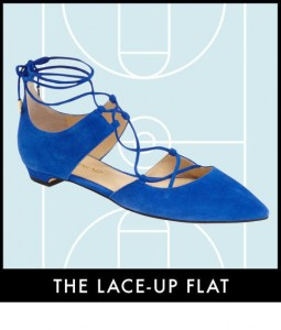 lace up flat