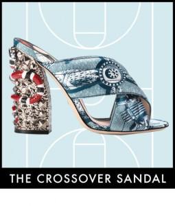 sandali crossover