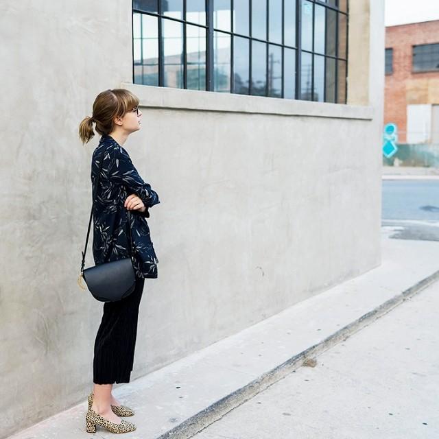 polished handbag