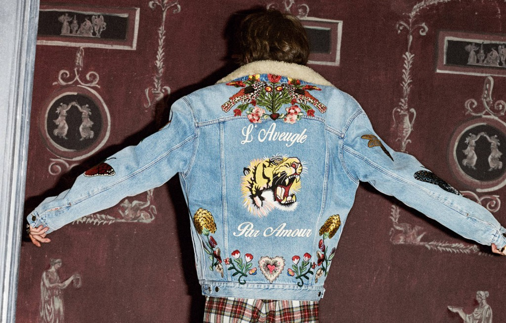 denim jacket Gucci