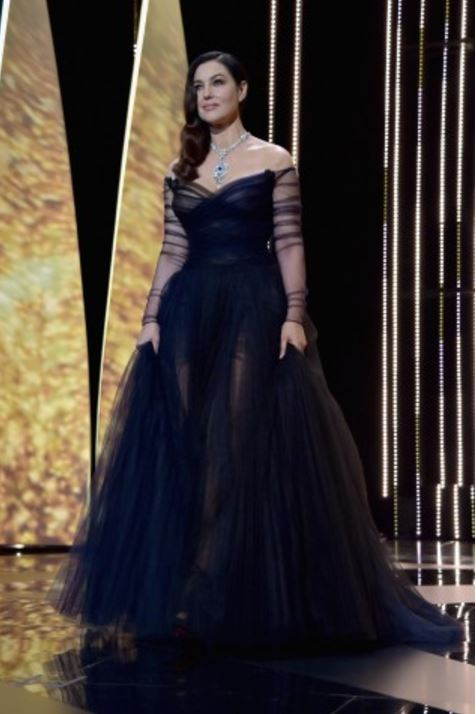 Monica Bellucci in Dior Couture
