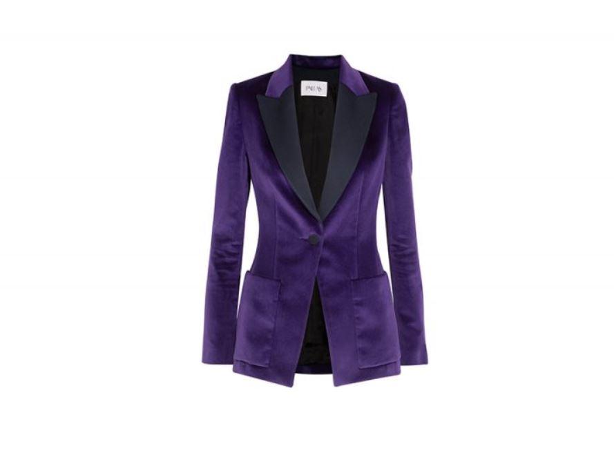 Blazer-violet-Velvet