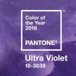 Ultra Violet il colore Pantone 2018 simbolo di controcultura.