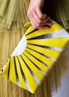 Borse Burberry pochette giallo