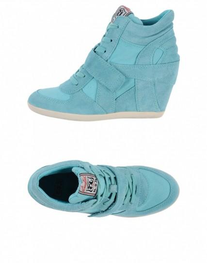 sneakers-con-zeppa-azzurre-ash