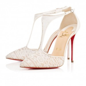 Louboutin mary-jane-in-pizzo