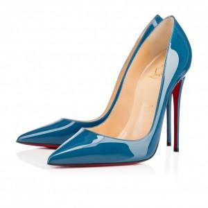 Louboutin pumps-azzurre