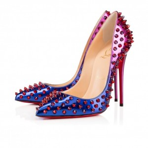 Louboutin pumps-degrade-con-borchie