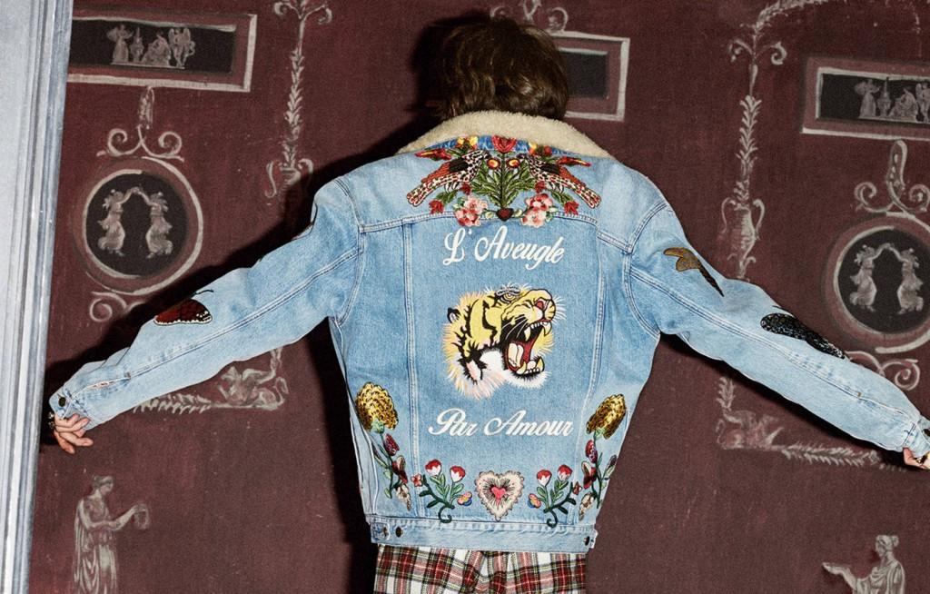 denim jacket Gucci